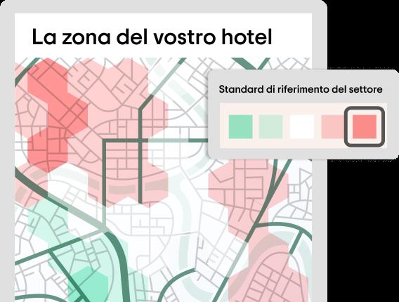 La zona del vostro hotel